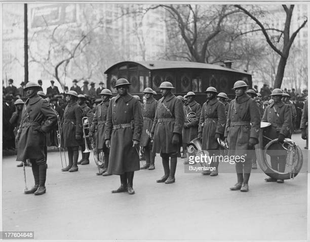 Lieutenant Jimmie Reese and his famous jazz band of the 369th African American Infantry formerly 15th New York regulars