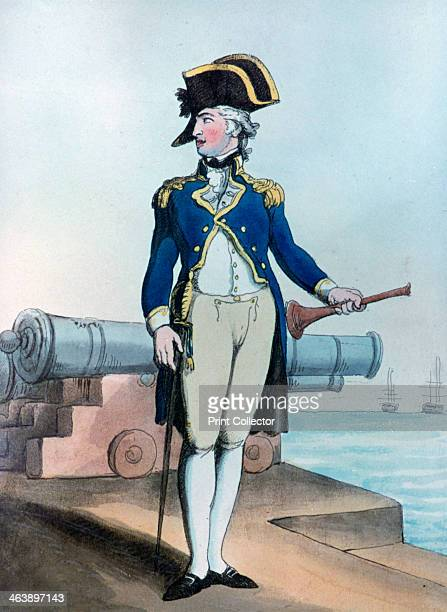 'Lieutenant of the Guard' 1799 From the collection of the National Maritime Museum London