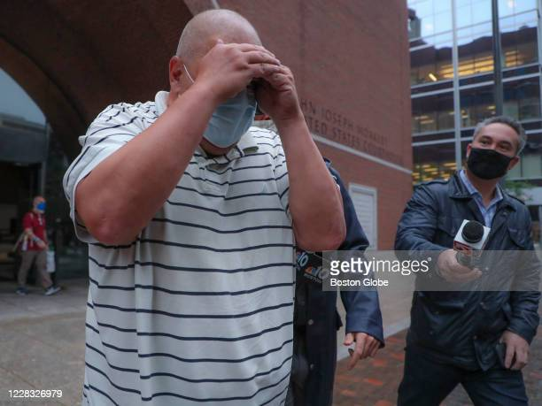 Lieutenant Timothy Torigian of Walpole, one of the 9 Boston police officers charged in connection with committing over $200,000 in overtime fraud,...