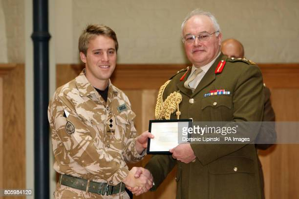 Lieutenant Tresham Dame Rowley Gregg from Norfolk was honoured with the Military Cross today at Honourable Artillery Company London Lieutenant...