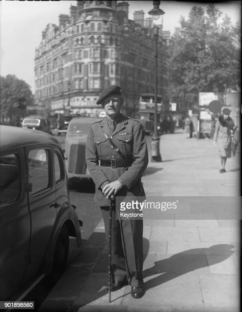 LieutenantColonel Jack Churchill of the British Army in London 29th May 1945