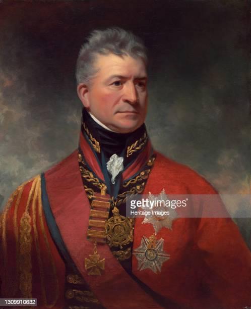 Lieutenant-General Sir Thomas Picton, 1815/1817. Artist Sir William Beechey. .