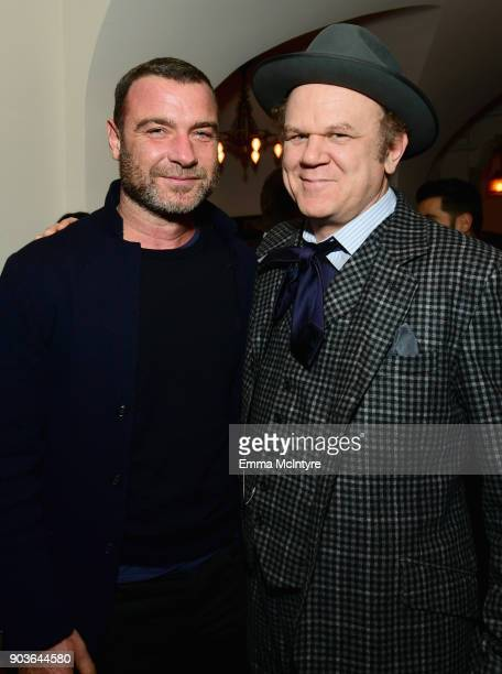 Liev Schreiber and John C Reilly attend Vanity Fair And Focus Features Celebrate The Film Phantom Thread with Paul Thomas Anderson at the Chateau...
