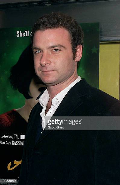 Liev Schreiber arrives at a screening of 'Amelie' at The Paris Theater in New York City 10/15/01 Photo by Scott Gries/ImageDirect