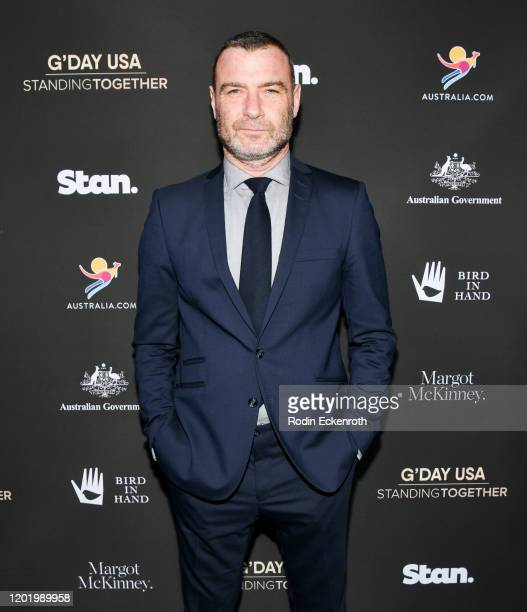 Liev Schreiber arrives at G'Day USA 2020   Standing Together Dinner on January 25 2020 in Beverly Hills California