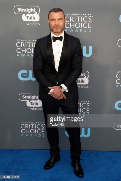 Liev Schreiber attends the 23rd Annual Critics' Choice Awards at Barker Hangar on January 11 2018 in Santa Monica California
