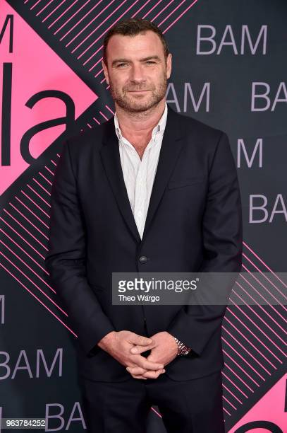 Liev Schreiber attends the BAM Gala 2018 honoring Darren Aronofsky Jeremy Irons and Nora Ann Wallace at Brooklyn Cruise Terminal on May 30 2018 in...