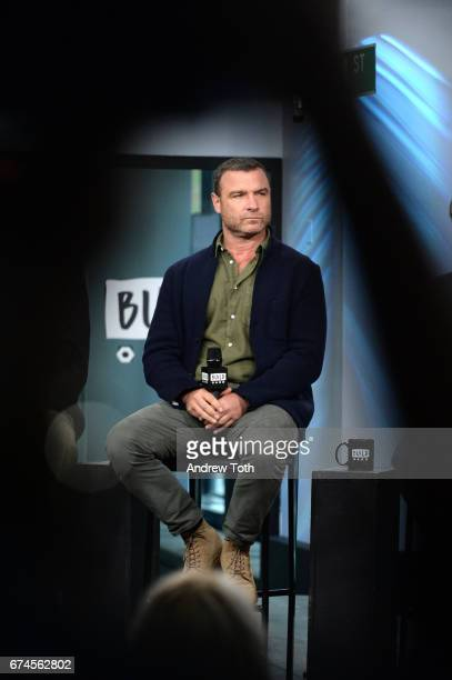 "Liev Schreiber attends the Build Series to discuss the film ""Chuck"" at Build Studio on April 28, 2017 in New York City."