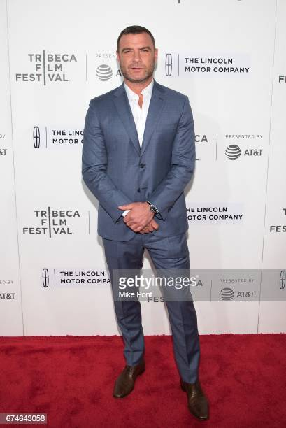 Liev Schreiber attends the 'Chuck' screening during the 2017 Tribeca Film Festival at BMCC Tribeca PAC on April 28 2017 in New York City