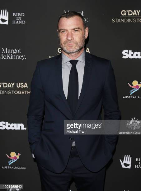 Liev Schreiber attends the G'Day USA 2020 held at Beverly Wilshire A Four Seasons Hotel on January 25 2020 in Beverly Hills California