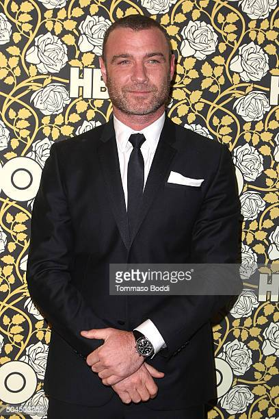 Liev Schreiber attends the HBO's Post 2016 Golden Globe Awards Party held at Circa 55 Restaurant on January 10 2016 in Los Angeles California