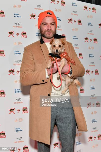 Liev Schreiber attends the 'Isle of Dogs' special screening at IFC Center on March 21 2018 in New York City