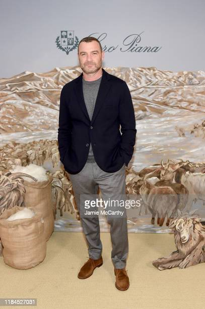 Liev Schreiber attends the New York City Film Premier Of Cashmere The Origin Of A Secret with Loro Piana on October 30 2019 in New York City