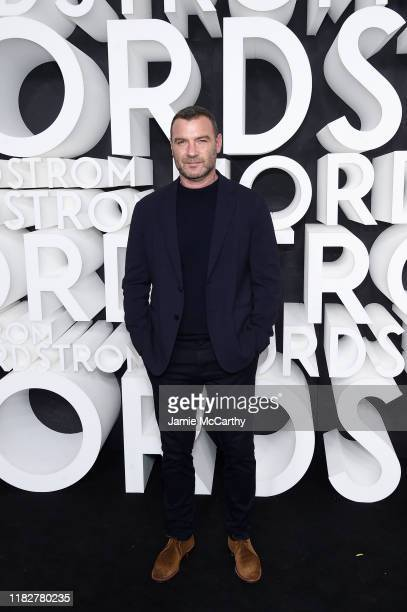 Liev Schreiber attends the Nordstrom NYC Flagship Opening Party on October 22 2019 in New York City
