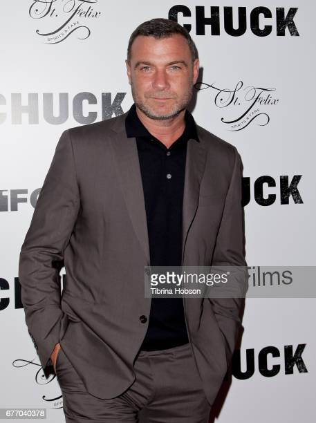 Liev Schreiber attends the premiere of IFC Films 'Chuck' at ArcLight Cinemas on May 2 2017 in Hollywood California