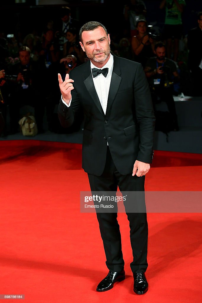 Liev Schreiber attends the premiere of 'The Bleeder' during the 73rd Venice Film Festival at Sala Grande on September 2, 2016 in Venice, Italy.