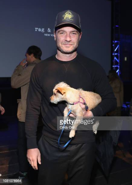 Liev Schreiber attends the screening of the rag bone film Time Of Day at The High Line on September 10 2018 in New York City