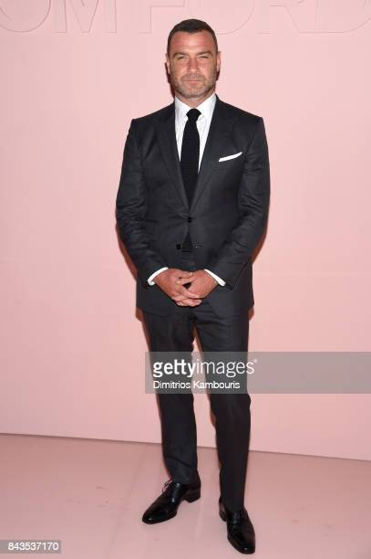 Liev Schreiber attends the Tom Ford Spring/Summer 2018 Runway Show at Park Avenue Armory on September 6 2017 in New York City