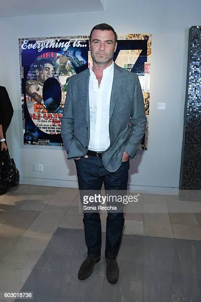 Liev Schreiber attends W Magazine NKPR IT House x Producers Ball Studio on September 11 2016 in Toronto Canada
