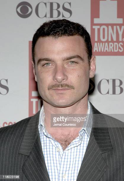 Liev Schreiber during 59th Annual Tony Awards 'Meet The Nominees' Press Reception at The View at The Marriot Marquis in New York City New York United...