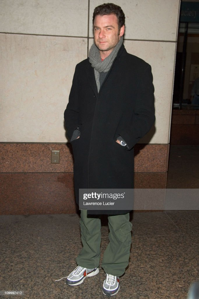 Liev Schreiber during Neil Young Heart of Gold New York Screening - Arrivals at Walter Reade Theater in New York, NY, United States.