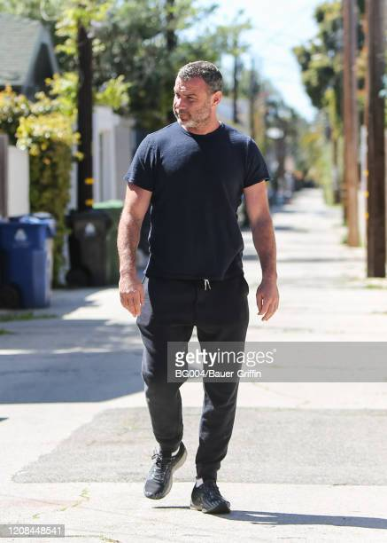 Liev Schreiber is seen on March 27 2020 in Los Angeles California