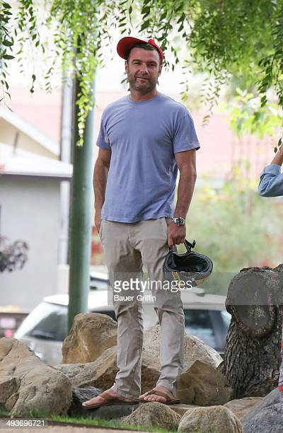 Liev Schreiber is seen on May 24 2014 in Los Angeles California