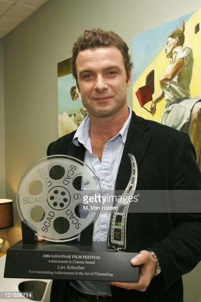Liev Schreiber, Recipient of the Achievement Award in Cinema