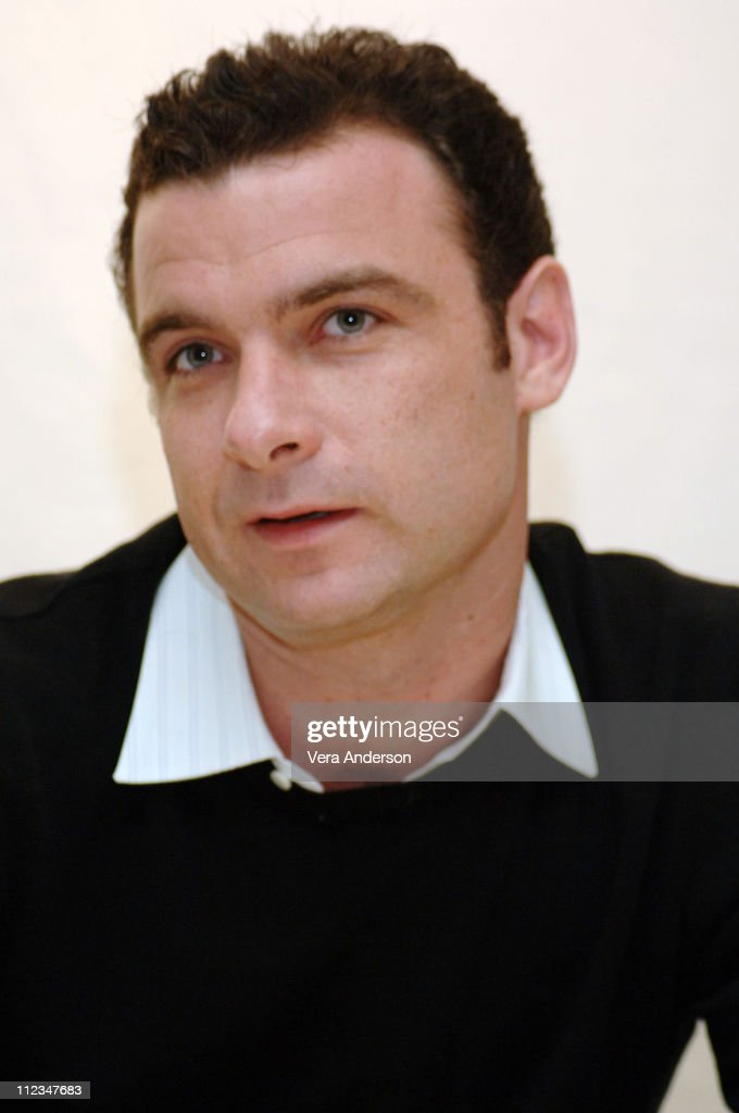 Liev Schreiber, screenwriter/director during 'Everything is Illuminated' Press Conference with Elijah Wood, Liev Schreiber and Eugene Hutz at Four Seasons Hotel in Beverly Hills, California, United States.
