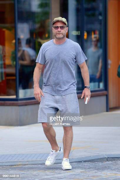 Liev Schreiber seen out and about in Manhattan on July 10 2018 in New York City