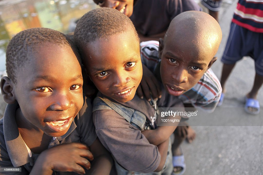 Life after the Earthquake, Haiti : Stock Photo