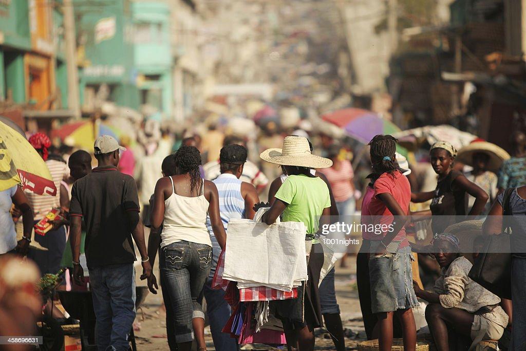 Life after the Earthquake, Haiti : Stock Photo