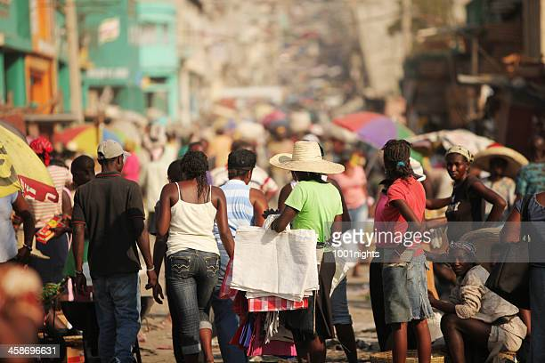 life after the earthquake, haiti - haiti stock pictures, royalty-free photos & images