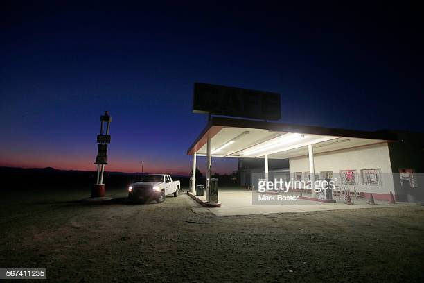 Life along Route 66 in Amboy California wouldn't be the same without Roy's Motel Cafe The gas at the pump expensive the motel closed long ago and...