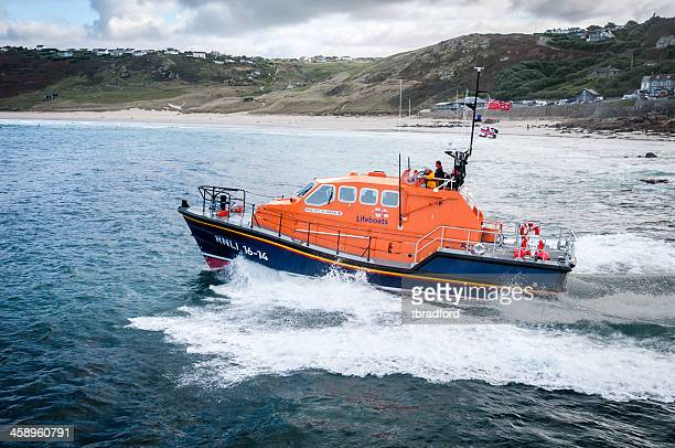 life boat launch - lifeboat stock pictures, royalty-free photos & images