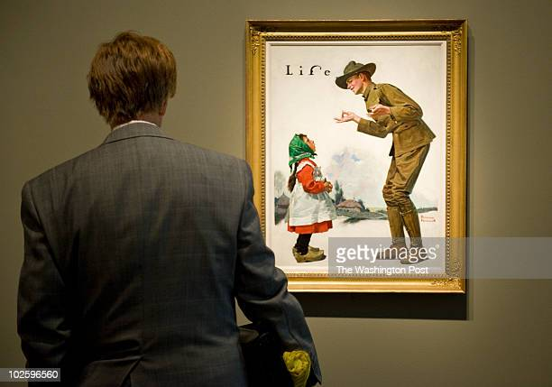 """June 29: A Life cover from 1917 titled """"Polley Voos Fransay?"""" Preview of the Norman Rockwell collection at the Smithsonian American Art Museum lent..."""