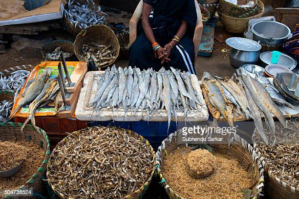 Life gets back to normalcy in Chennai after heavy floods as dried fish are on sale Kasimedu fishing harbour Royapuram fishing harbour also known as...