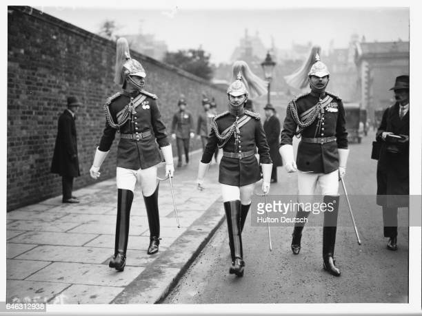 Life Guards Leaving After a Levee