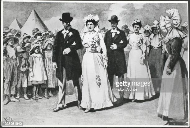 Life In a Concentration Camp at Vryburg A wedding of Boer refugees Vryburg