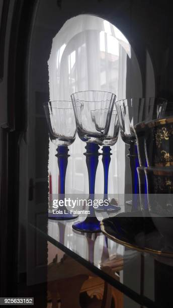 Life in a house, dining room glasses