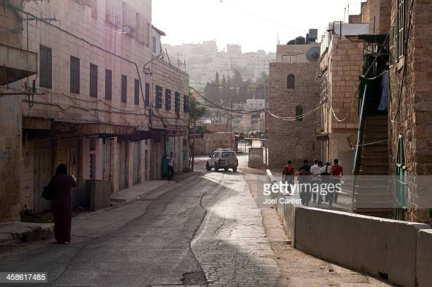 life in hebron with palestinians and israelis - hebron stock pictures, royalty-free photos & images