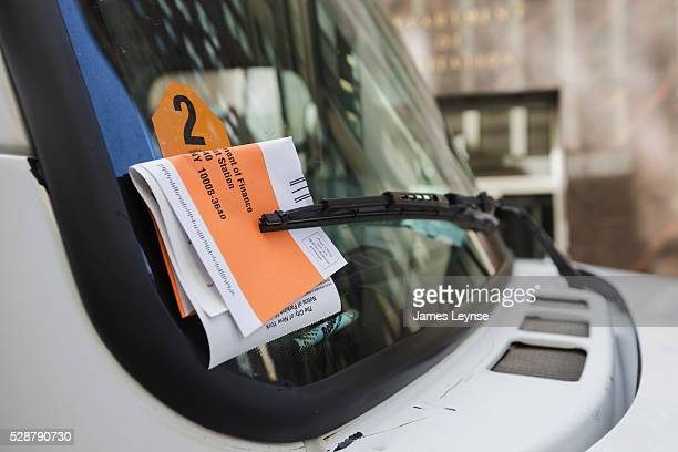 Life in New York proceeds as normal A delivery van with a parking ticket near ground zero on the 11th anniversary of the terrorist attacks on 9/11