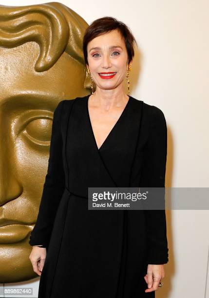 Kristin Scott Thomas at BAFTA Piccadilly on December 10 2017 in London England