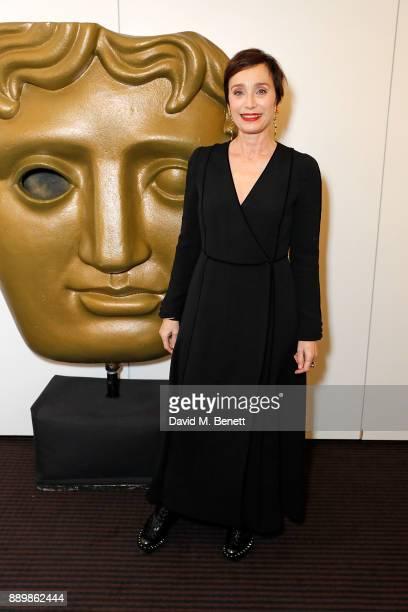 Kristin Scott Thomas at BAFTA Piccadilly on December 10 2017 in London England