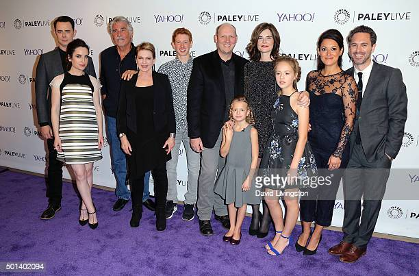 """Life in Pieces"""" cast members attend PaleyLive LA: An Evening with """"Life in Pieces"""" at The Paley Center for Media on December 14, 2015 in Beverly..."""
