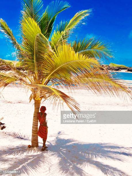 life in the african beach - kenya stock pictures, royalty-free photos & images