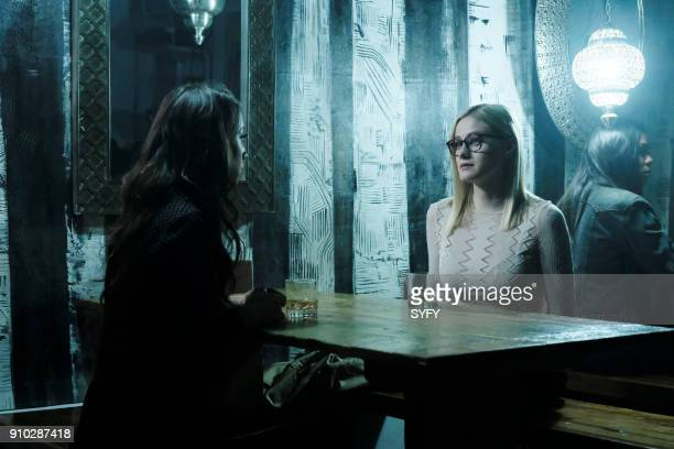 THE MAGICIANS A Life in the Day Episode 305 Pictured Stella Maeve as Julia Wicker Olivia Taylor Dudley as Alice