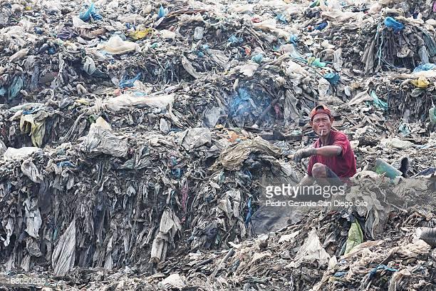 Life in the garbage town in Tondo, Manila.