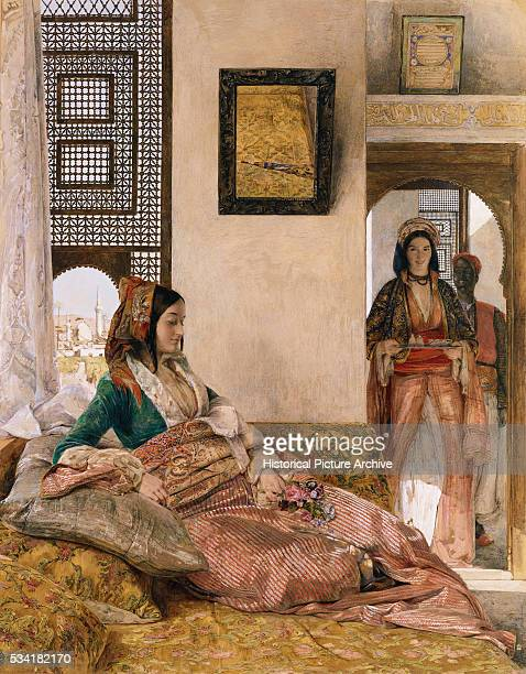'Life in the Harem Cairo by John Frederick Lewis '