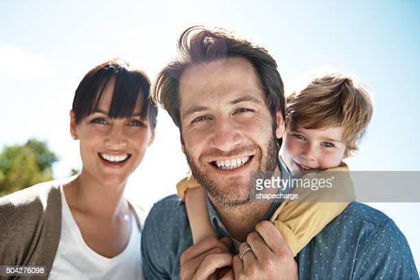 Das Leben ist zu Familie